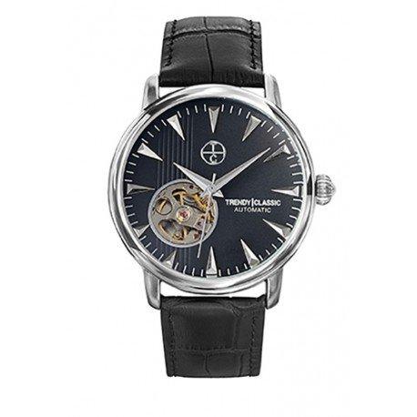 Trendy Classic Automatic CC1021 02 Automatikuhr Armband Leder Schwarz