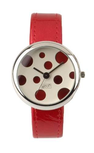 Eton - Damenuhr mit rotem Armband