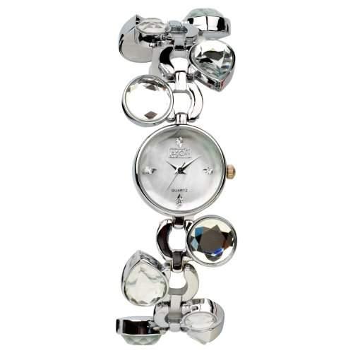Eton Damen-Armbanduhr Analog andere Materialien silber 2905L-8