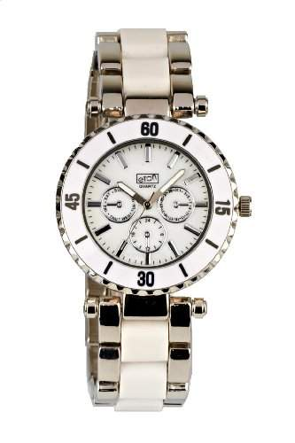 Eton Damen-Armbanduhr Analog weiss 2937J-WT