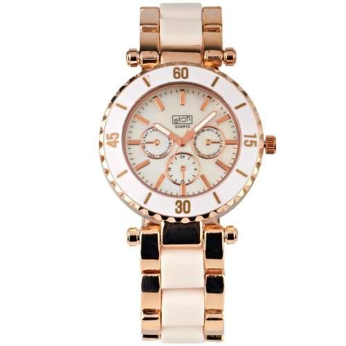 Eton Damen-Armbanduhr Analog weiss 2938J-WT