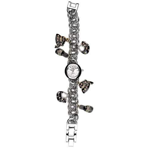 Eton Damen-Armbanduhr Analog silber 2945L-BK