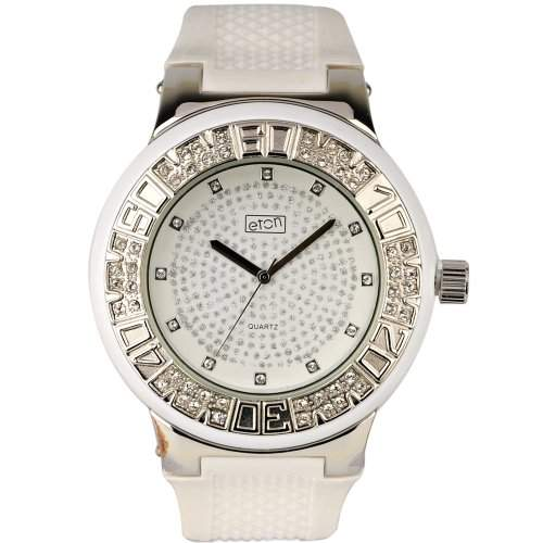 Eton Herren Armbanduhr Analog Kunststoff weiss 2965J-WT