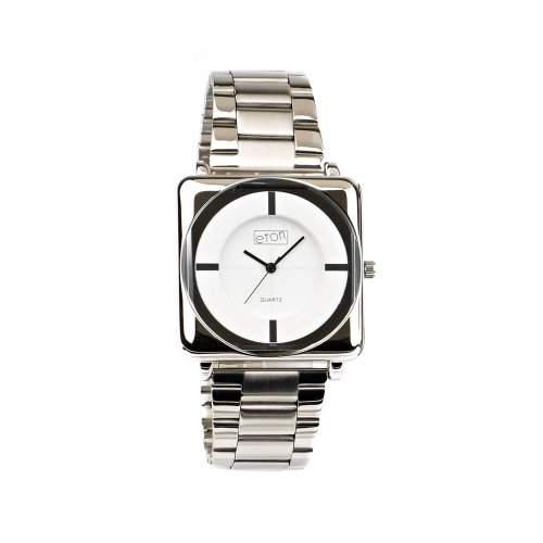 Eton Herren-Armbanduhr Analog Silber 3011G-CW