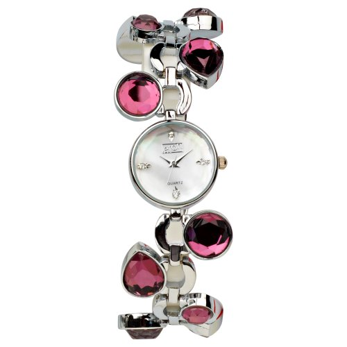 Eton Damen Armbanduhr Analog andere Materialien violett 2905 6