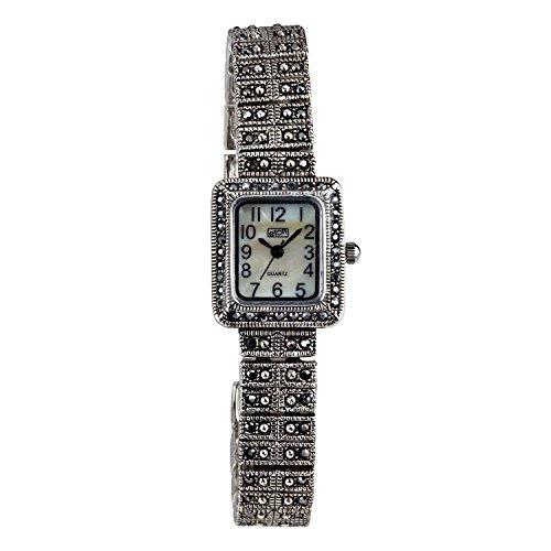 Eton Damen Markasit Uhr Mop Zifferblatt Antik Finish 3181l
