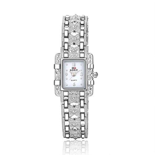Ouneed Uhren Armband Armbanduhr Deman Maedchen Geschenk Weiss