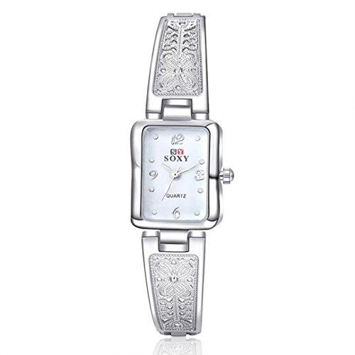 Ouneed Uhren Deman Armband Armbanduhr Maedchen Geschenk Weiss