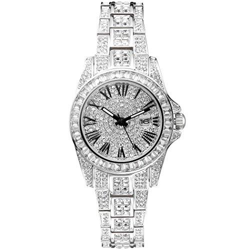 Pb Edelstahl mit oesterreichischen Kristallen Luxus Damen Kleid hl584b