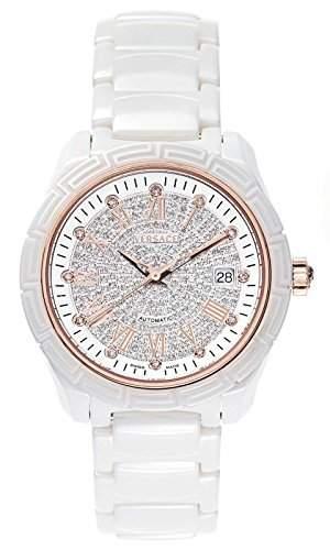 Versace Damen-Armbanduhr Analog Automatik Plastik Weiss 63QCP11D91F SC01