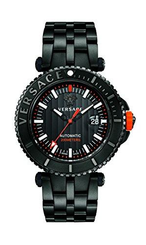 VERSACE V Race Diver Automatik Taucher Uhr Limited Edition VAL010016