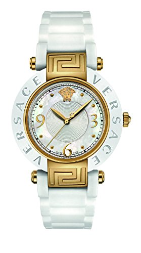 Versace Reve Ceramic fuer Frauen Armbanduhr Analog Quartz 92QCP1D497 S001