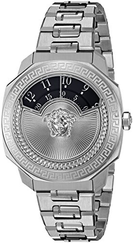 Versace Damen Armbanduhr dylos Schweizer Quarz Edelstahl casual Modell vqu030015