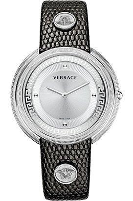 Uhr Versace Thea Damen Quarz aus Stahl und Leder VA701 0013
