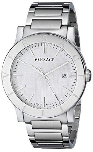 Versace Herren vqb050000 Acron Edelstahl Armbanduhr