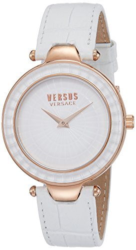Versus by Versace Damen sq1110015 Sertie Display Weiss Quarz