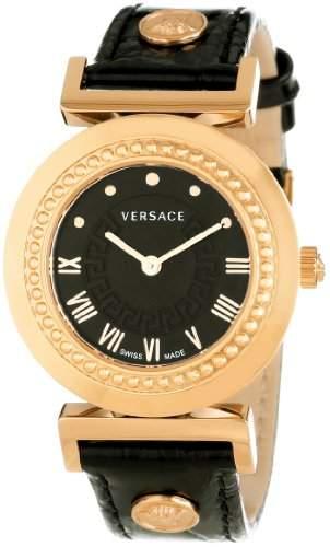 Versace Damen-Armbanduhr XS Vanity Analog Quarz Leder P5Q80D009S009