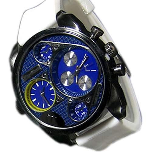 Herrenuhr Mode Schwarz Blau Armbanduhr DUAL Herrenuhr Sport STYLE Trend WATCH