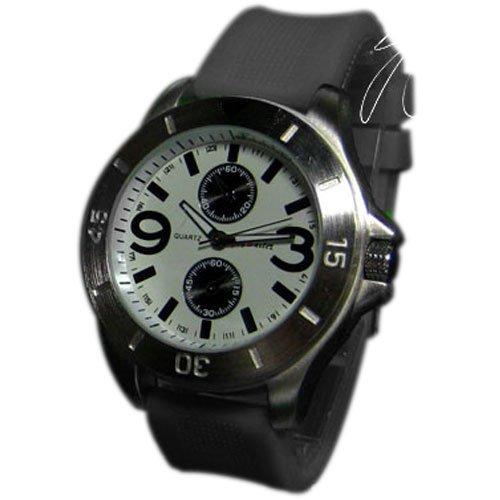 Silikonuhr Herren Damen Unisex Uhr Schwarz Grau Armbanduhr New Style