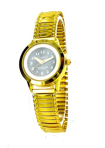 Zeigt goldfarben Armband Stretch Retro Beleuchtung