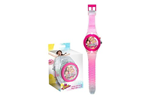 Armbanduhr LED digital Soy Illustrated O Soy Luna Disney Kinder Maedchen