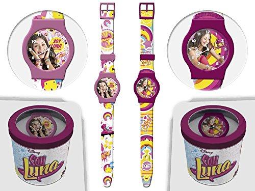 Soy Luna Disney Kids Uhr mit Zeiger 41445
