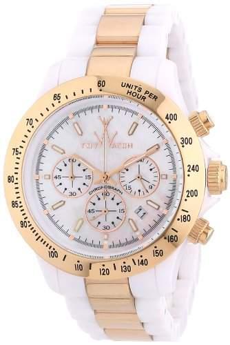 ToyWatch Unisex-Armbanduhr Chronograph verschiedene Materialien HM15WHPG