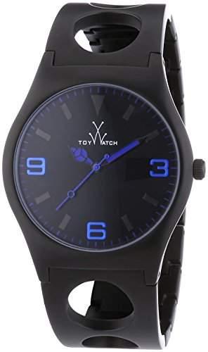 ToyWatch Unisex-Armbanduhr Analog Quarz Edelstahl beschichtet CU10BK