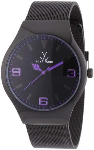 ToyWatch Unisex-Armbanduhr Analog Edelstahl MH05BK