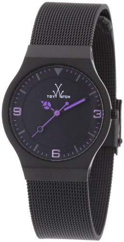 ToyWatch Unisex-Armbanduhr Analog Edelstahl MH09BK