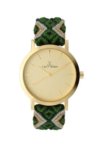 Maya Toywatch Women- Armbanduhr Analog Quarz MYW06GD 0940060-gruen