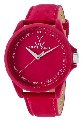 ToyWatch Damen-Armbanduhr Sartorial pink Velvet Analog Quarz One Size, pink, pink