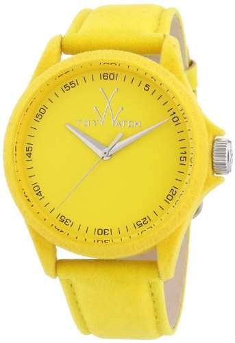 ToyWatch Damen-Armbanduhr Analog Quarz Leder PE07YL