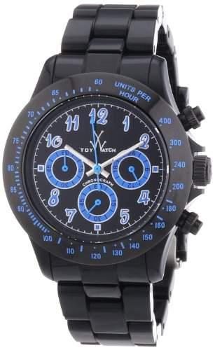 ToyWatch Unisex-Armbanduhr Chronograph verschiedene Materialien TB02