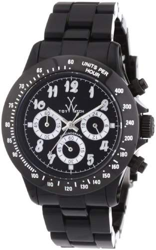 ToyWatch Unisex-Armbanduhr Chronograph verschiedene Materialien TB03