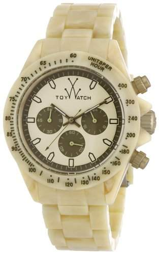 ToyWatch Unisex-Armbanduhr Chronograph verschiedene Materialien FLE08HR