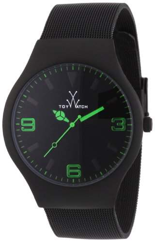 ToyWatch Unisex-Armbanduhr Analog Edelstahl MH04BK