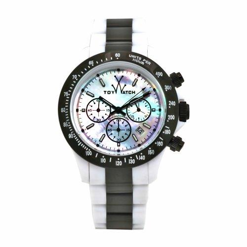 ToyWatch Unisex Armbanduhr Chronograph verschiedene Materialien HM20WHGU