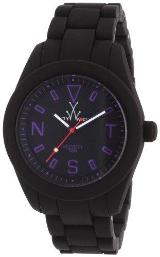 ToyWatch Unisex Armbanduhr Analog verschiedene Materialien VV04BK