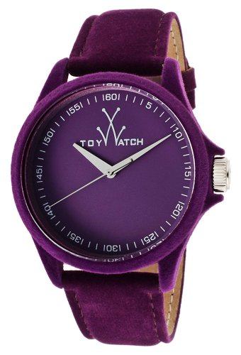 ToyWatch Womens PE06VL Sartorial Only Time Violet Velvet Watch