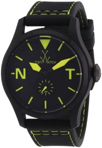ToyWatch Unisex-Armbanduhr Analog Leder TTF07BKGR
