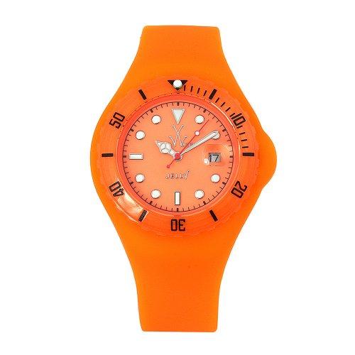 Toy Watch Womens JYD03OR Jelly Fluo Orange Rubber Watch