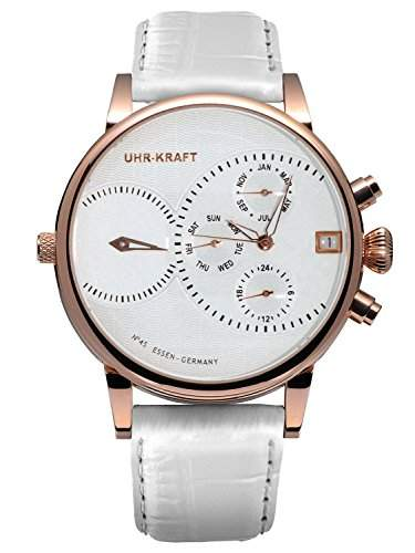 Uhr-Kraft Dualtimer 45 Classic Quarzuhr 271041RGw