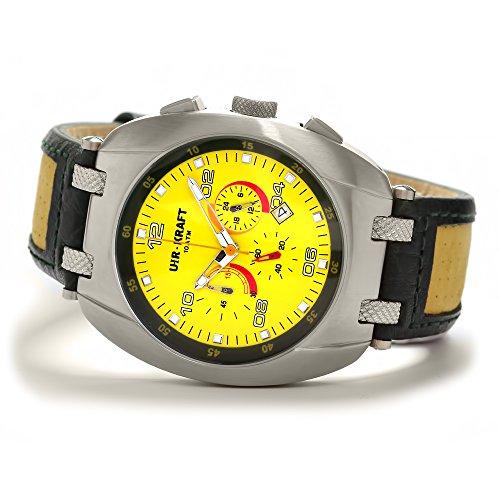 Uhr Kraft 17313 7 Surf Turf Chronograph gelb