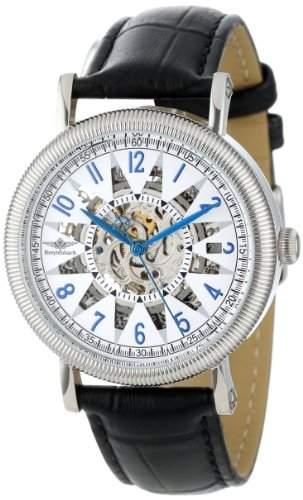 Breytenbach Damen-Armbanduhr Skeletton Analog Automatik Leder BB1390Si
