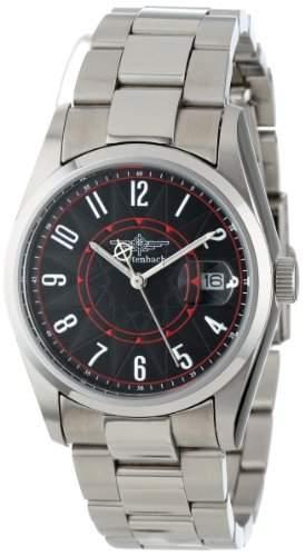 Breytenbach Unisex-Armbanduhr Metall Analog Quarz Edelstahl BB1810S