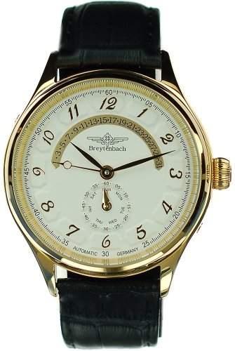 Breytenbach Herren-Armbanduhr BB55103WW-G 55103
