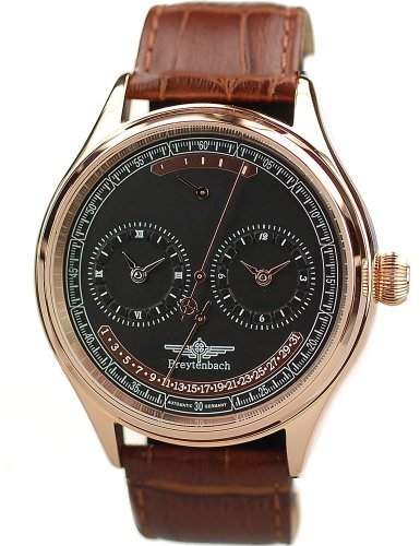 Breytenbach Herren-Armbanduhr BB55201S-RG 55201