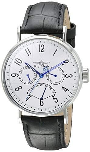 Breytenbach Herren-Armbanduhr BB6630W-SS