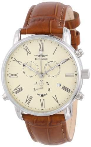 Breytenbach Herren-Armbanduhr Alarm-Chronograph BB7720BE